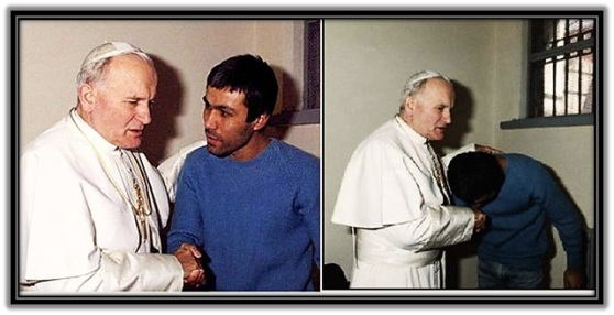 Juan Pablo II - Perdonando a quien le disparó