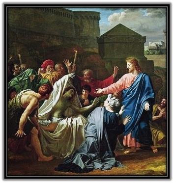 Milagro Jesús resucita un muerto