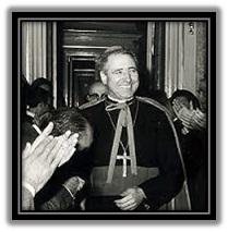 Mons. José Guerra Campos - recibimiento