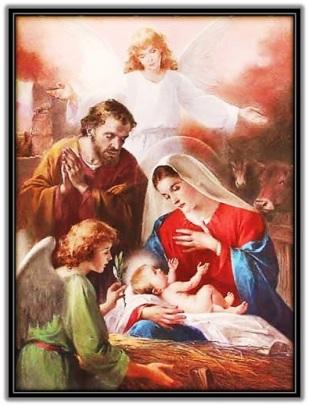 Sagrada Familia - adoración de ángeles
