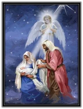 Sagrada Familia - ángel y estrella