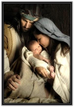 Sagrada Familia - José y María y Niño Jesús
