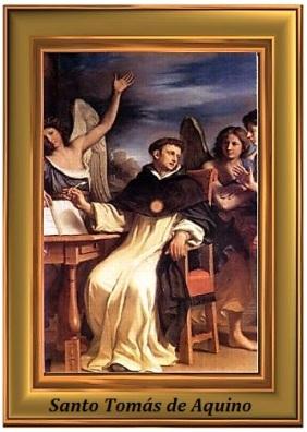 Santo Tomás de Aquino - cuadro