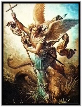 Arcangel San Miguel defiendenos del maligno