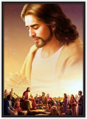 Jesús predicando al descubierto
