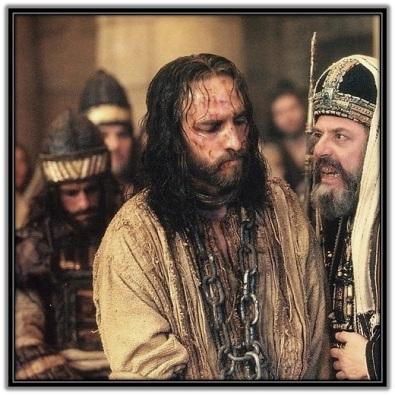 Jesús y Caifás