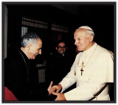 José Guerra Campos y San Juan Pablo II