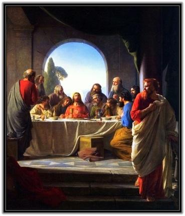 Jueves Santo Eucaristía y la traición de Judas