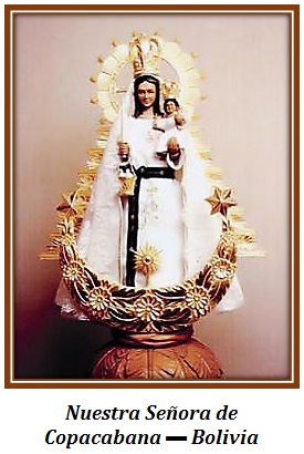 Nuestra Señora de Copacabana - Bolivia