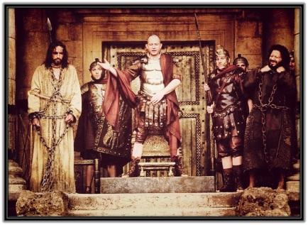 Pilato y Jesús con Barrabás