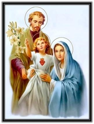 Sagrada Familia - Corazón de Jesús