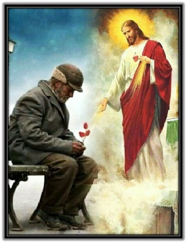 Sagrado Corazón de Jesús aparición indigente