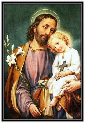 San José - Niño Jesús con Cruz en la mano 2
