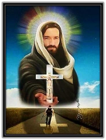 Jesús - Cruz - Peregrino