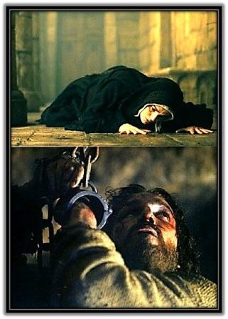 María y Jesucristo encadenado
