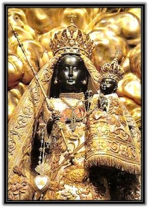 Virgen negra de Einsiedeln – SUIZA