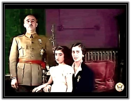 Francisco Franco - En familia