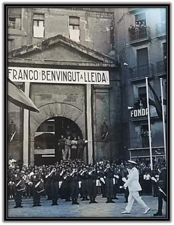 Franco Benvingut a Lleida