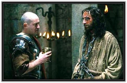 Interrogatorio de Pilato a Jesús
