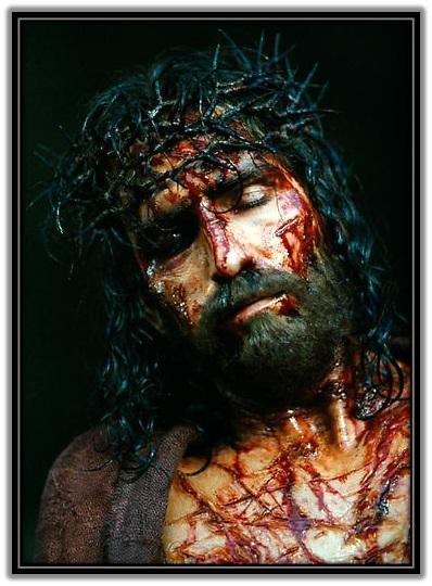 Jesús ensangrentado
