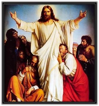 Jesús resucitado se aparece a los Apóstoles