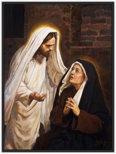 Jesús resucitado se aparece a María