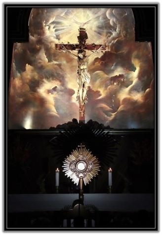 Jesús Sacramentado y Crucificado