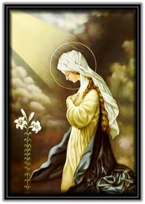 La humildad de la Virgen María