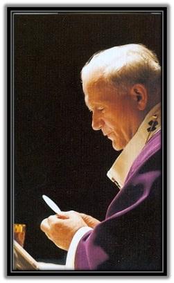 San Juan Pablo II - Consagrando