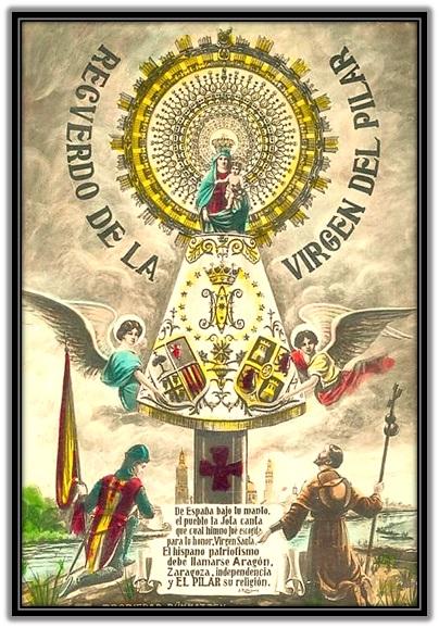 Virgen del Pilar - Hispanidad