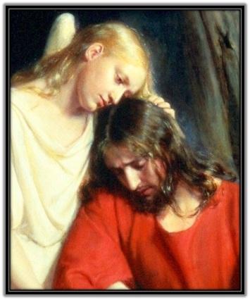 Jesús consolado por el Ángel 1