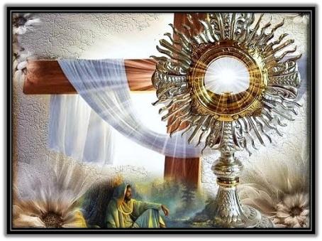 Jesús Sacramentado - Cruz