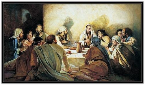 Jesús y los Apóstoles