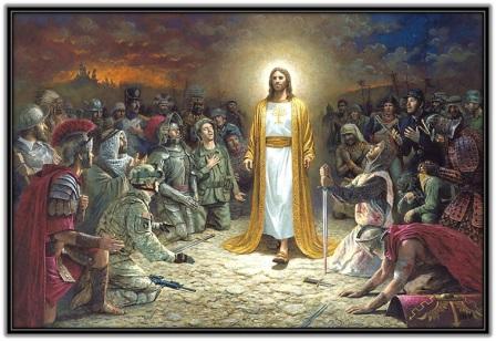 Jesucristo todo hombre se postre