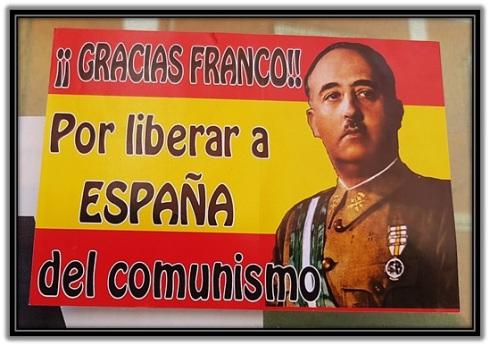 ¡¡Gracias Franco!! por liberar a España del comunismo