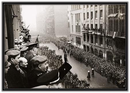 Francisco Franco Liberación de Barcelona (26-1-1939)