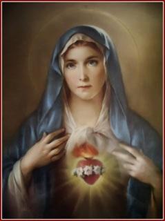 Inmaculado Corazón de Bienaenturada Virgen María