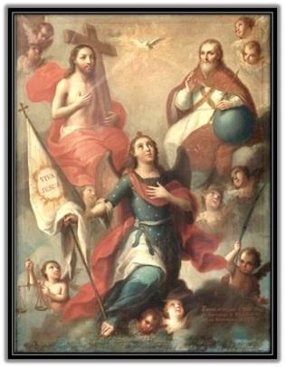 La Santísima Trinidad y San Miguel Arcángel
