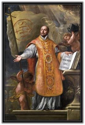 San Ignacio de Loyola - Dos banderas