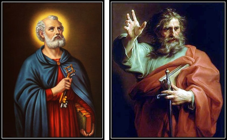 San Pedro y San Pablo. Apóstoles