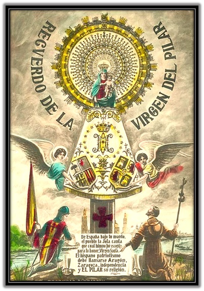 Virgen del Pilar - Hispanidad